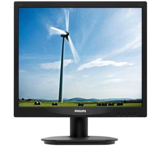 17 PHILIPS 17S4LSB-62 LCD 5 MS SİYAH KARE MONİTÖR