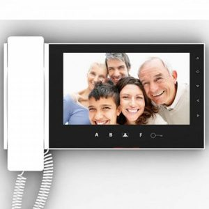 Mas Smart Efes Dokunmatik Tuşlu 7 Görüntülü Telefon Diafon Sistemi