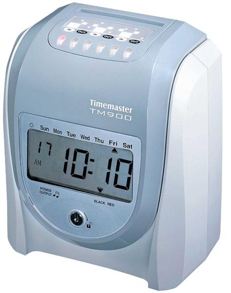 Time Master TM 900 Elektronik Kart Basma Saatleri