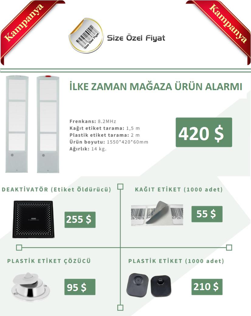 Mağaza Ürün Koruma Ve Alarm Sistemleri