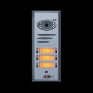 Audio Basic Kameralı Butonlu Kapı Zili Paneli