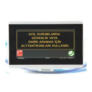 Multitek IP Interkom Sistemi VIP100-IP-ASN1 Daire Diafon Sistemi