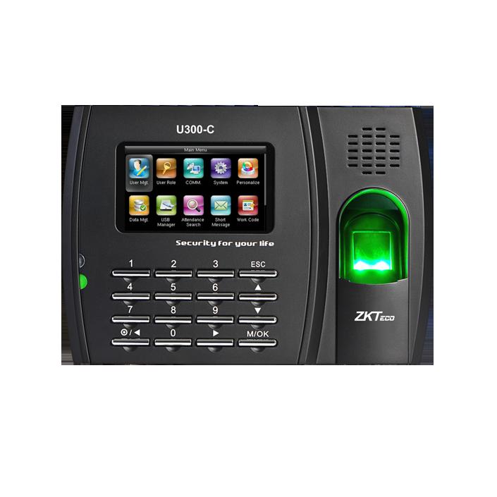 ZKTeco U300-C Kartlı Ve Parmak İzli PDKS Terminali