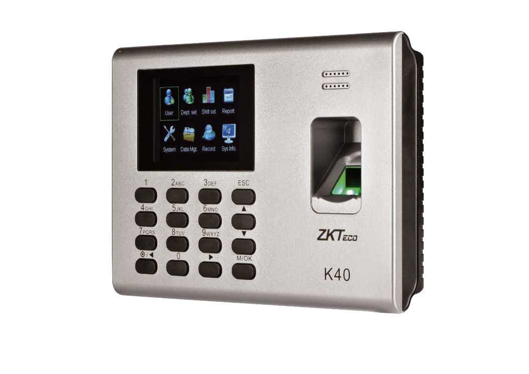 ZKTeco K40 Parmak İzi Terminali / İLKE ZAMAN