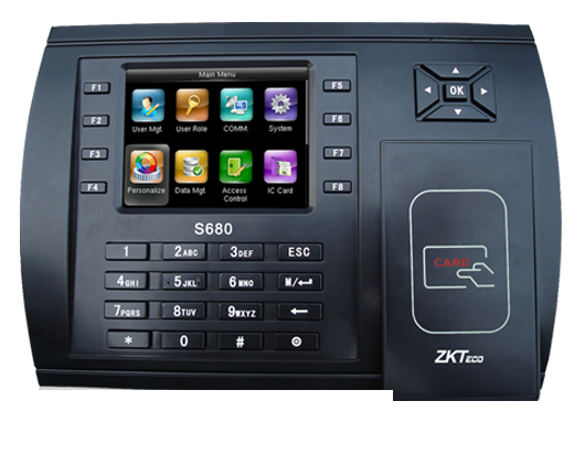 ZKTeco S680 ID Kartlı ve Şifreli Terminal
