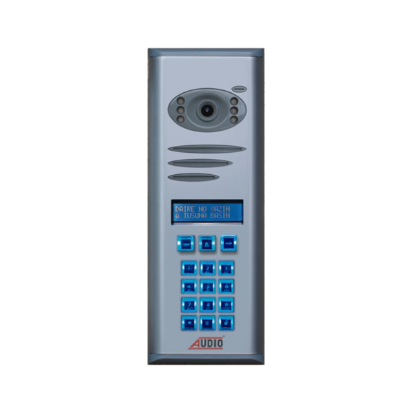 Audio Basic Kameralı Dijital Bina Diafon Paneli