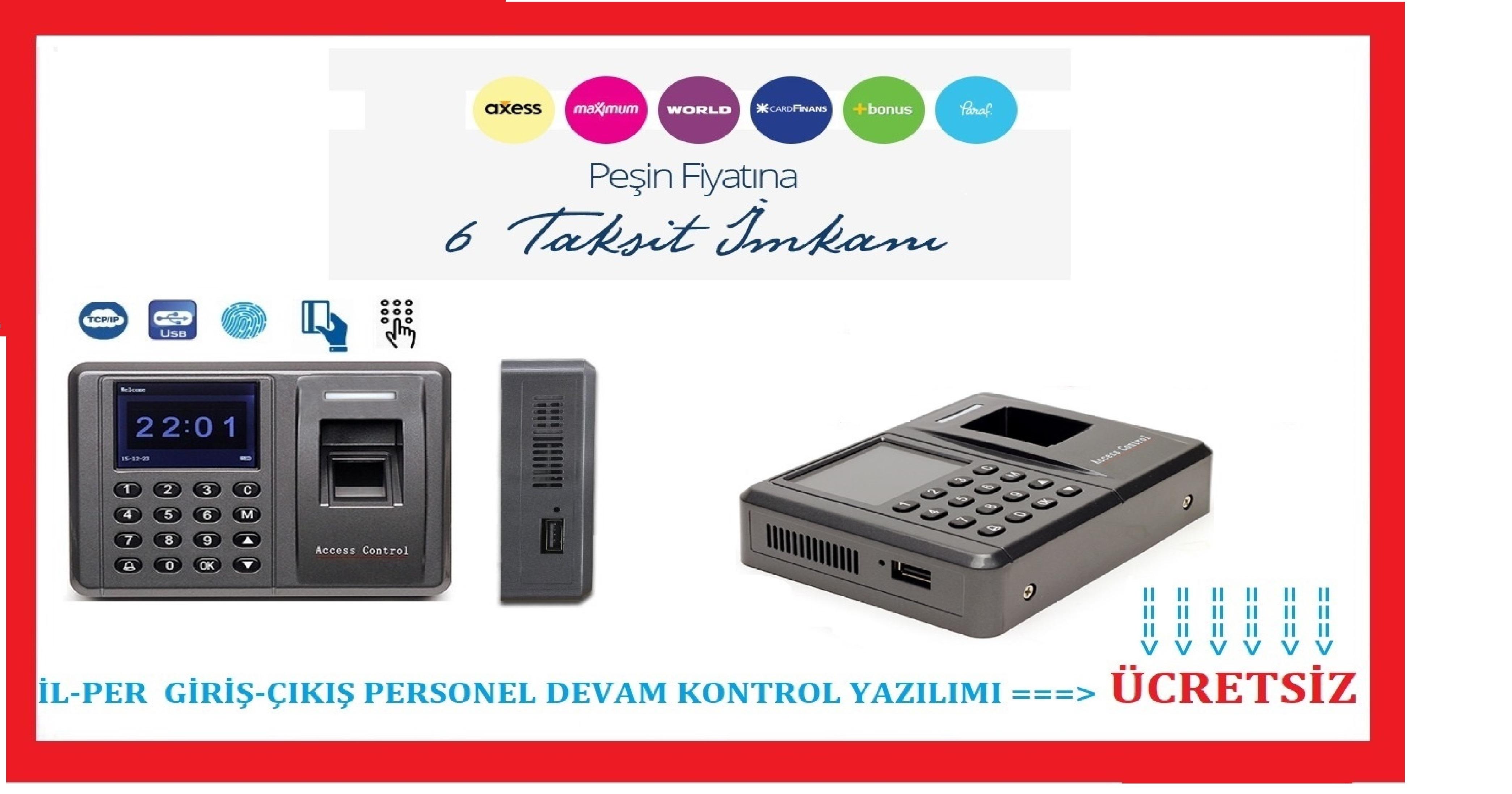 LK 800 Parmak İzi Okuyucu Personel Takip Sistemi / İLKE ZAMAN