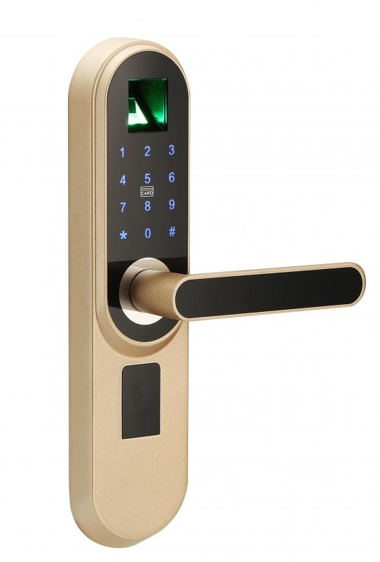LK 12370 Parmak İzli Kapı Açma Kilit Sistemi