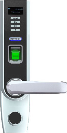 LK 12360 ID Kartlı Şifreli ve Parmak İzli Kapı Kilidi