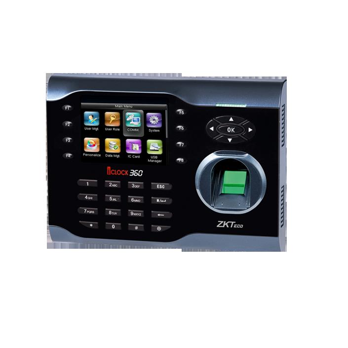 ZKTeco iClock 360 Kartlı Parmak İzi Terminali