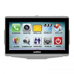 Multitek IP Interkom Sistemi VIP100-ALARM Daire Diafon Sistemi